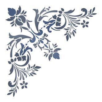 Трафареты для росписи потолка своими руками